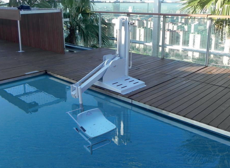 silla piscinas