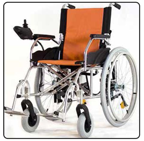 silla de ruedas eléctrica grupo núcleo