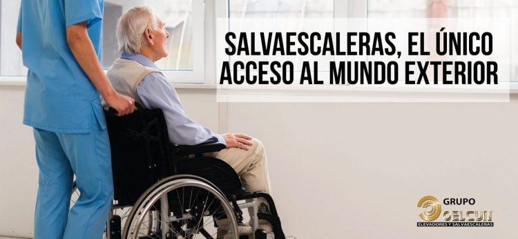 salvaescaleras acceso movilidad reducida oelcun