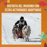 Actividades adaptadas para la nieve este invierno por Grupo Oelcun elevadores