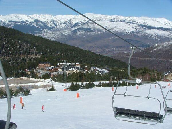 La Molina estacion de esqui adaptada