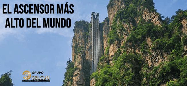 El ascensor mas alto del mundo por grupo oelcun elevadores