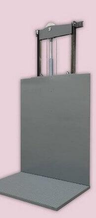 Grupo Núcleo - Montacargas - Plataforma elevadora con guiadores modelo Power